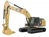 CAT 329 EL stroj určený pre zemné a výkopové práce