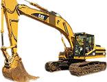 Caterpillar CAT 325 stroj určený pre zemné a výkopové práce