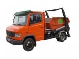 Kontajnerový nosič Mercedes Scania vozidlo určené pre nákladnú autodopravu