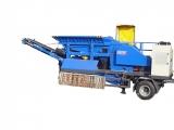 Stroj pre recykláciu materiálov Resta