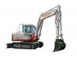 Takeuchi TB174, TB290 stroje určený pre zemné a výkopové práce